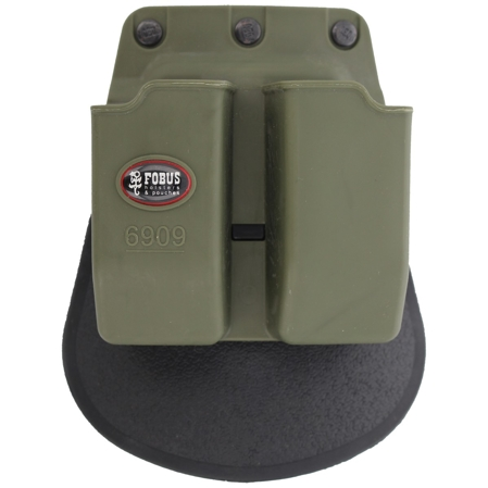 Fobus double mag pouch FN, CZ, S&W double-stack 9mm (6909G RT)