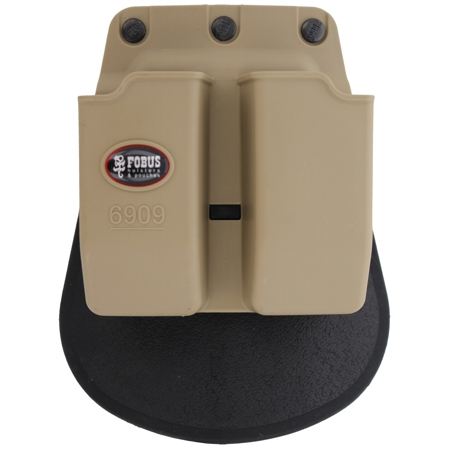 Fobus double mag pouch FN, CZ, S&W double-stack 9mm (6909K)