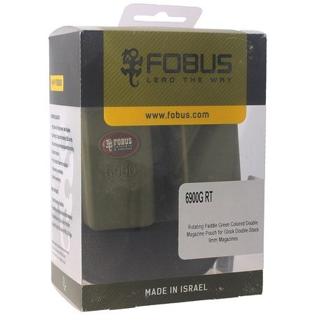 Fobus double mag pouch Glock 17, H&K double-stack (6900G RT)