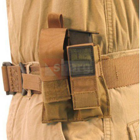 Ładownica BlackHawk Belt Mounted Double Pistol Mag Pouch Black - 52PMK2BK