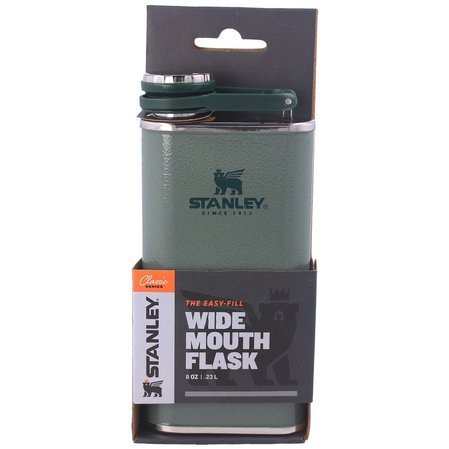 Stanley The Classic Wide Mouth Flask 236ml Green (10-00837-051)