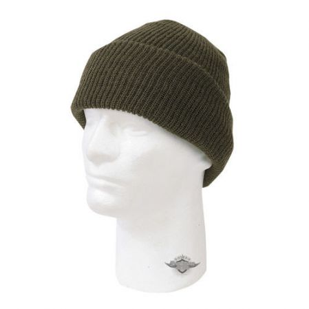 Czapka Wisconsin Knitwear Acrylic Watch Caps Olive (3532)