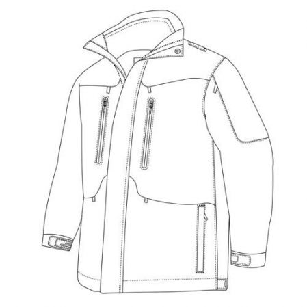 Parka Tru-Spec 24-7 Weathershield 3-in-1 (2490)